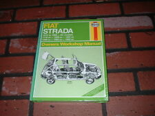 NEW HAYNES MANUAL FOR FIAT STRADA. 1979 TO 1988.