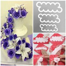 1Set/3pcs Flower Fondant Cake Cutter Decorating Baking Tools Sugarcraft Mold DIY