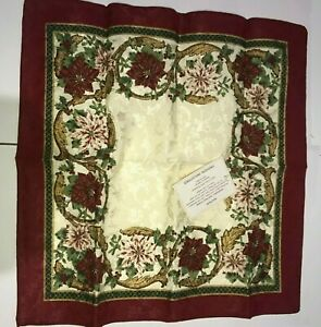 4 x High Quality Napkins with Floral Pattern (NEW) Four Pack