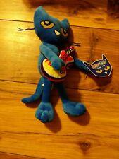 """Pete the Cat - Guitar Pete - Plush Doll 11""""     New PhatMojo James Dean"""