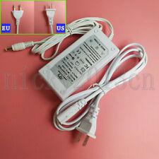 DC 24V 2A 48W Power Supply Transformer Switch Adapter White Indoor LED Driver