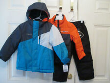 NEW $150 TAG ZEROXPOSUR 3-IN-1 JACKET VERTICAL PANTS SNOWSUIT BOYS 4
