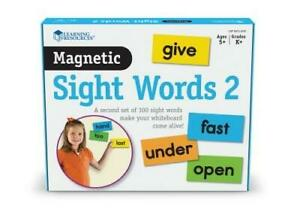 More Giant Magnetic Sight Words