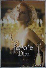 Affiche J'ADORE Dior 2011 CHARLIZE THERON - 120x177 cm abribus