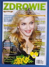 MADONNA mag.FRONT cover Poland natural medicine magazine