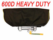 Waterproof Winch Dust Cover Driver Recovery LD12 ELITE X12 TITANIUM Yellow Str.