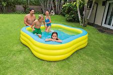 INTEX grande famiglia di forme d'onda Spiaggia Swim Center PISCINA PER BAMBINI AL DI FUORI ACQUA FUN