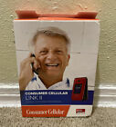 Consumer Cellular Link II Flip Phone - Red photo