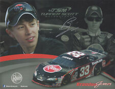"SIGNED 2013 BRANDON JONES ""RHEEM"" #33 UARA LATE MODEL SERIES POSTCARD"