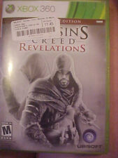 Microsoft Xbox 360 2011 Assassins Creed Revelations Game, Book, Code Cards, Case