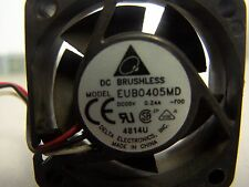 Lot of 2, EUB0405MD DC Brushless Fan for 3Com 4400 Switch
