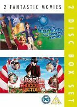 Charlie And The Chocolate Factory/Willy Wonka And the Chocolate Factory (DVD,...