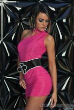 Sexy New (A73) Pink Mini Dress Size 8 10 12