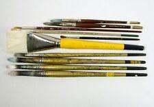 10 Artist Paint Brush Simmons Loew Cornell Langnickel da Vinci Sable Camel Hair