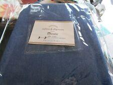 Pottery Barn Saybrook slipcover Sunbrella  blue cobalt blue sofa  New
