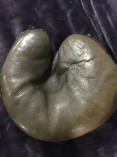 Reach Baseball Glove 1889 Patent Decker Back Catchers Mitt, 1890-1915 Vintage