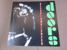 The Doors 1983 Alive, She Cried 12x12 Promo Cover Flat Poster Jim Morrison
