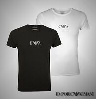 New Mens Emporio Armani Crew Neck Short Sleeves Underwear T Shirt Size S M L XL