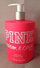 1 Victoria's Secret PINK Body Lotion WARM & COZY 16.9 fl.oz 500 ml Vanilla Peony
