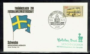 Germany, Soccer Football World Cup 1974, Sweden Training Camp Cover