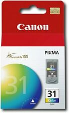 New Genuine Canon CL-31 Color Ink Cartridge