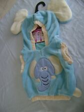 TODDLERS PULL OVER ELEPHANT COSTUME - SZ 2T - NEW