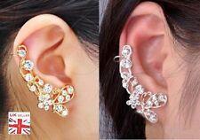 Mode-Ohrschmuck im Ohrstecker-Stil aus Metall-Legierung mit Kristall