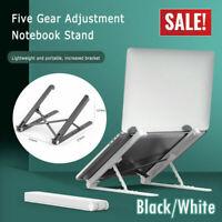 Adjustable Laptop Tablet Stand Notebook Riser Holder Ergonomic Portable MacBook+
