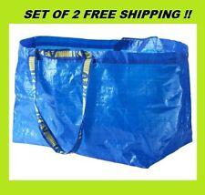 IKEA FRAKTA  Storage Bags 19 Gallons Set Of 2  Free Shipping !