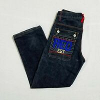 Red Ape Boys Turquoise Straight Leg Jeans   #O