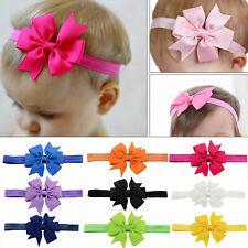 20PC/Set Girl Newborn Baby Toddler Infant Kid Flower Headband Hair Bow Band Bulk