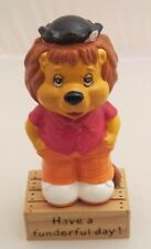 Get along Gang ceramic figure Rudyard Lion on stand  - 3 inches