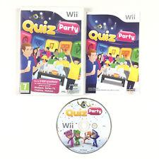 Quiz Party Wii / Jeu Sur Console Nintendo Wii et Wii U