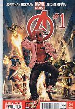 Avengers #1 DEADPOOL Cover VARIANT GANGNAM Style