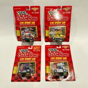 World of Outlaws Pennzoil Sprint Car Racing Champions 1997 1:64 DieCast Lot of 4