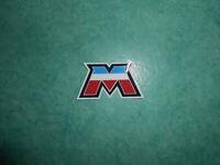 """Autocollant tricolore """"M"""" Motobécane MBK 29 x 53 mm"""