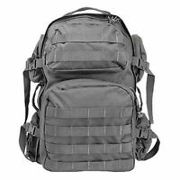 NcSTAR CBU2911 Heavy Duty Utility Camping Hiking Tactical Backpack Urban Gray