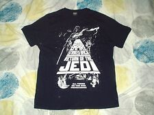 Camiseta Azul Oscuro Trilogía de la guerra de las galaxias películas grandes