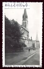 Lourdes . Abside de la Basilique . photo ancienne . Juin 1946
