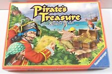 Ravensburger 2001 Pirate's Treasure Board Game Map Gold Coins Insturctions