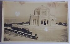 1920'S Rppc Postcard Of Vista House At Crown Point Columbia River Highways Cars
