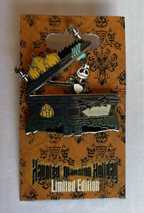 Disneyland Haunted Mansion Holiday 2014 Jack Skellington Pin LE 5000