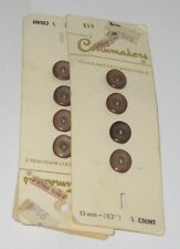 """Retro BUTTONS OVAL SHAPE SIZE 1/2 """" Buttons 12 by COSTUMAKER"""