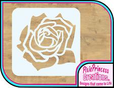 Flower Rose Love FF Mylar 190 Stencil Airbrush Paint Wall Decor Craft Pretty