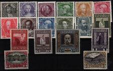 Österreichische Briefmarken mit Falz und BPP-Fotobefund