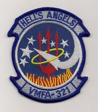 USMC VMFA-321 HELL'S ANGELS patch F/A-18 HORNET FIGHTER ATTACK SQN
