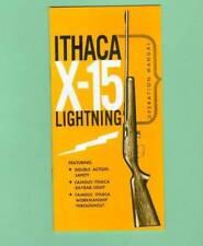 Ithaca Company Gun Manuals for sale | eBay