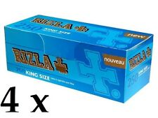4 x Rizla King size Cigarette Tube 8mm(250 Empty Tubes per Box)