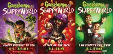 GOOSEBUMPS SLAPPYWORLD Collection Children's Horor Series by RL Stine Books 1-3