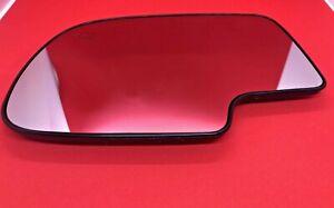 2000-2006 GM AVALANCHE SILVERADO FRONT LEFT POWER MIRROR GLASS W/HEAT SIDE VIEW